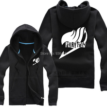 Free Shipping New Anime FAIRY TAIL Clothing Hooded Sweatshirt Cosplay Guild Logo Hoodie Costume(China (Mainland))