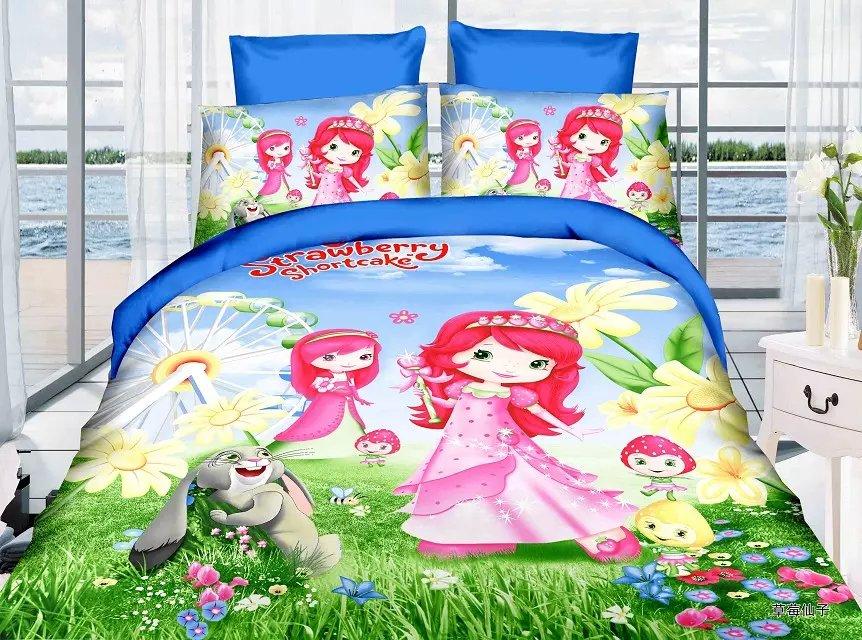 Popular Strawberry Shortcake Twin Bedding Set Buy Cheap