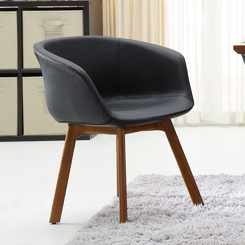 Olger Beth Ash wood dinette chairs modern upscale restaurant cafe chair F483(China (Mainland))