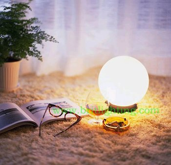 desk lamp table light Creative desk lamp-purple flowers touch switch dimmer switch table lamps