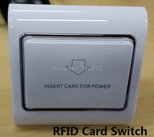 20pcs/lot Any card for power switch Energy saving switch for hotel key card switch credit card paper bank card aviable