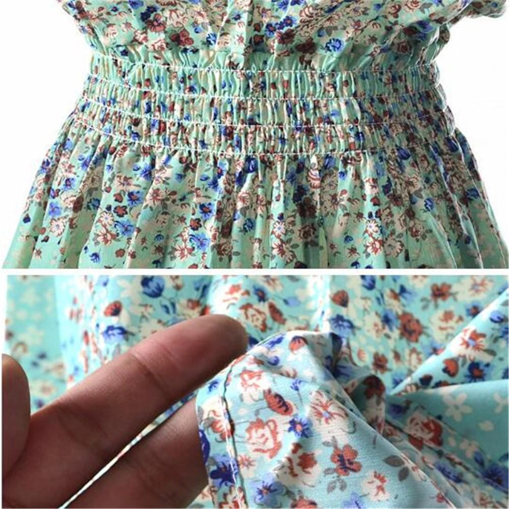 Fashion Tunic Women Dress 2016 Plus Size XXL O-neck WOMEN DRESS Summer Style Floral Print Casual Dresses Women Vestidos Woman (415)