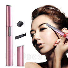 Hot New Design Electric Shaver Bikini Hair Legs Eyebrow Trimmer Shaper Remover Razor Set Beauty Free Shipping Cheap Z1(China (Mainland))