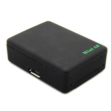 Mini A8 GPS Tracker Global Locator Real Time GSM GPRS With SOS Button Security Finder Black(China (Mainland))
