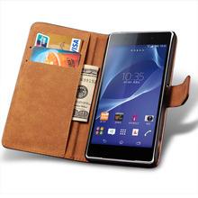 Чехол книжка для Sony Xperia Z1/Z2/Z3/ L35h/L36h/S36h/S39h/ST27i кожа