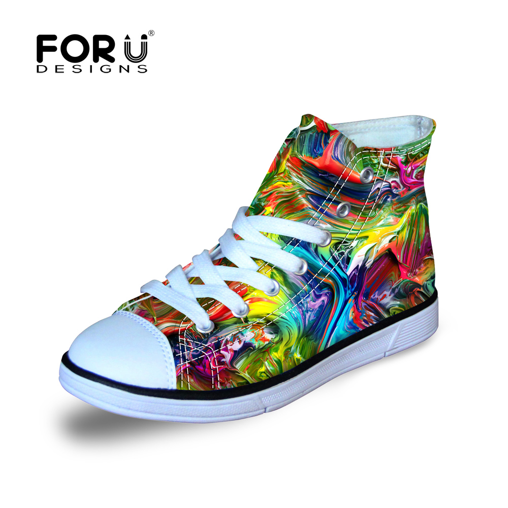 forudesigns lightweight graffti painting shoes design