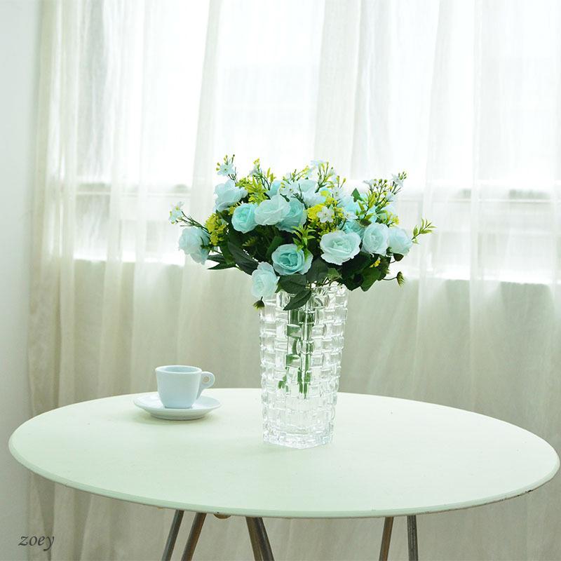 5 heads Artificial Spring Silk Rose Penoy Flowers Fake Wedding Peony Bouquet Hydrangea for Home Wedding Decoration(China (Mainland))
