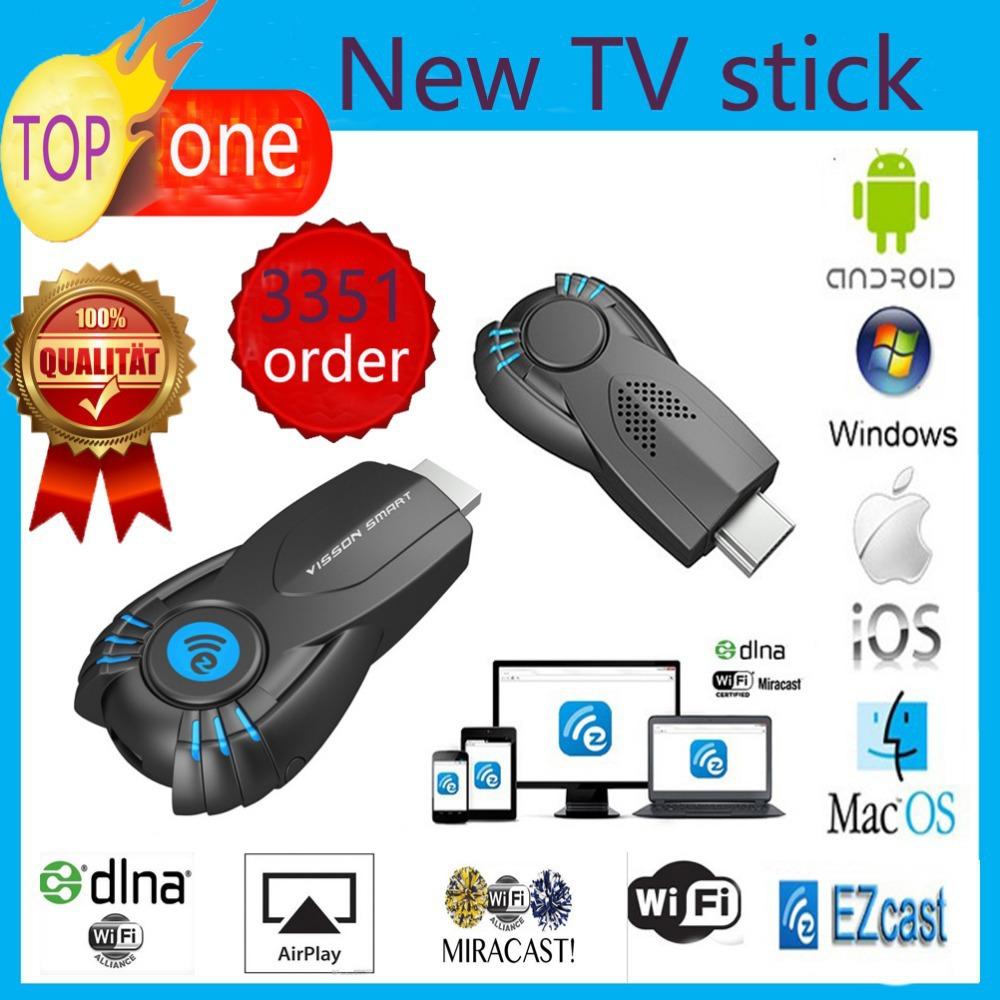 Vsmart v5ii ezcast smart tv stick media player support DLNA Miracast better than android tv box chromecast mini pc mk808 mk908(China (Mainland))