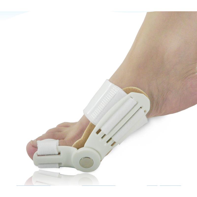 HOTSELL ! Updated Toe Straightener Corrector Toe Bunion Corrector Hallux Valgus Day Night Splint Straightener(China (Mainland))