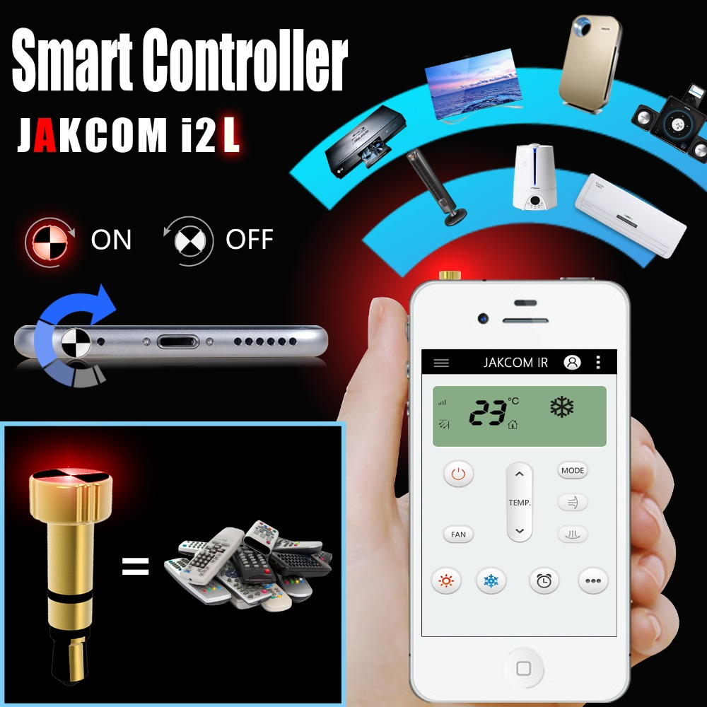 Jakcom Smart Infrared Universal Remote Control Cell Phone Anti Dust Gadgets Xiaomi Cell Phone Plug Charms