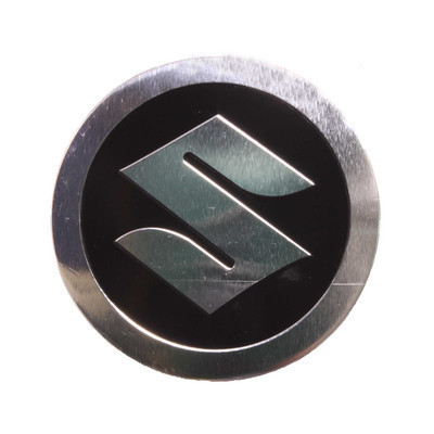 High Quality Motor Logo Emblem for Suzuki Symbol Metal Badge Decal Stickers for Motorcycle Scooter Street Bike MTX Motocross(China (Mainland))