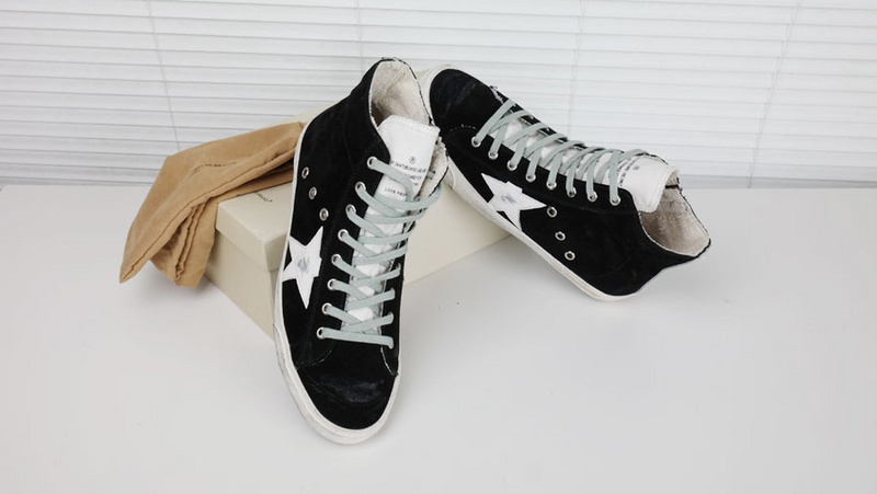 2016 New Italy Golden Goose Deluxe Brand GGDB Casual Style,Fashion Men/Women Lace-Up Genuine Leather High Top Shoes,Size EU35-46<br><br>Aliexpress
