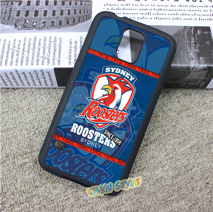 NRL Sydney Roosters Case cover for samsung galaxy S3 S4 S5 S6 S6 edge S7 S7 edge Note 3 Note 4 Note 5 #tk752(China (Mainland))