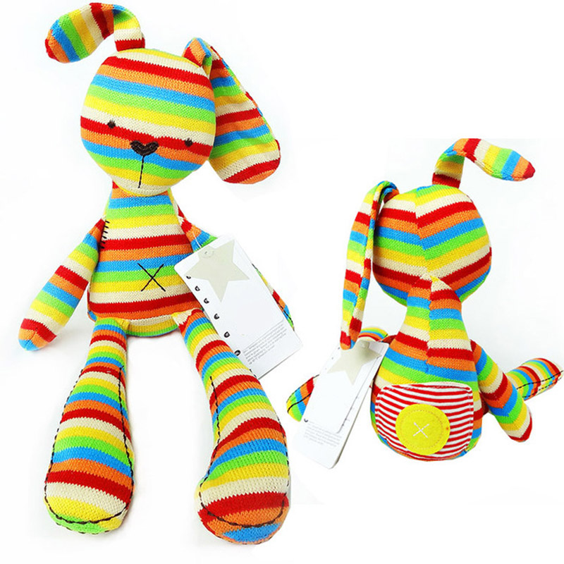 Mamamiya&papas Baby Kids 50cm large bunny Rabbit Sleeping Comfort Doll Children's Cute plush Toys lovely animal brinquedos(China (Mainland))