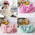 New Kids Star Hair Accessories Cute Rabbit Ear Baby Headbands Elastic Fashion Soft Toddler Stripe Scrunchy