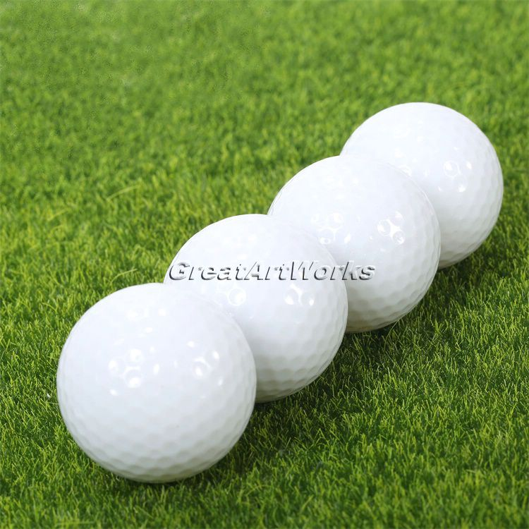 2016 New 4Pcs Golf Balls LED Electronic Golfing Light-up Flashing Night Light Glowing Night Tracker Flashing Golf Ball(China (Mainland))