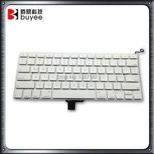Original US Layout Keyboard For Macbook Pro 13 Inch White US Keyboard A1342  Keyboard(China (Mainland))