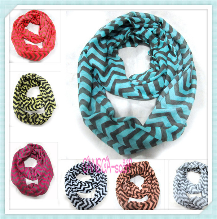 chevron infinity scarf voile large size infinity scarf winter marcas perfumes and fragrances of brand originals scarves wrap(China (Mainland))