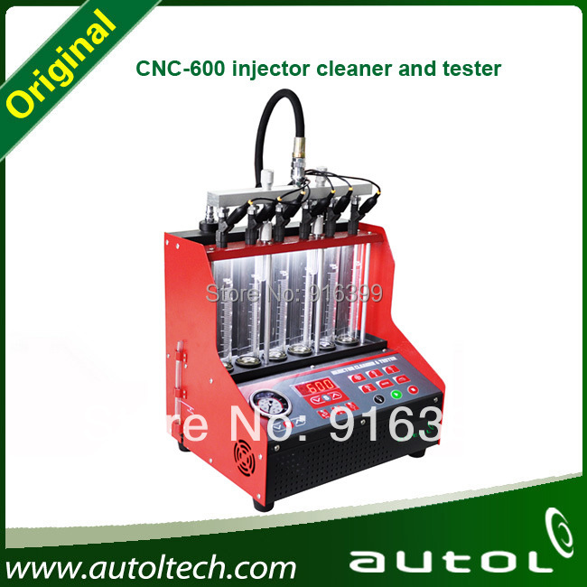 2015 Top Quality Fuel Injector Tester and Cleaner CNC600 Ultrasonic Fuel Injector Cleaning Machine Same as Launch CNC602A(China (Mainland))