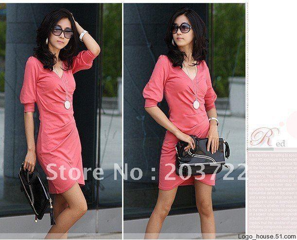 2012 New,Free shipping Fashion irregular Tailer-made Women's evening Party Mini dress V Club Mini Dress,PROMOTION