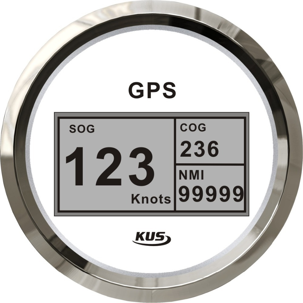 85 mm num rique gps compteur de vitesse v lom tre 12 v 24 v pour voiture camion bateau km. Black Bedroom Furniture Sets. Home Design Ideas