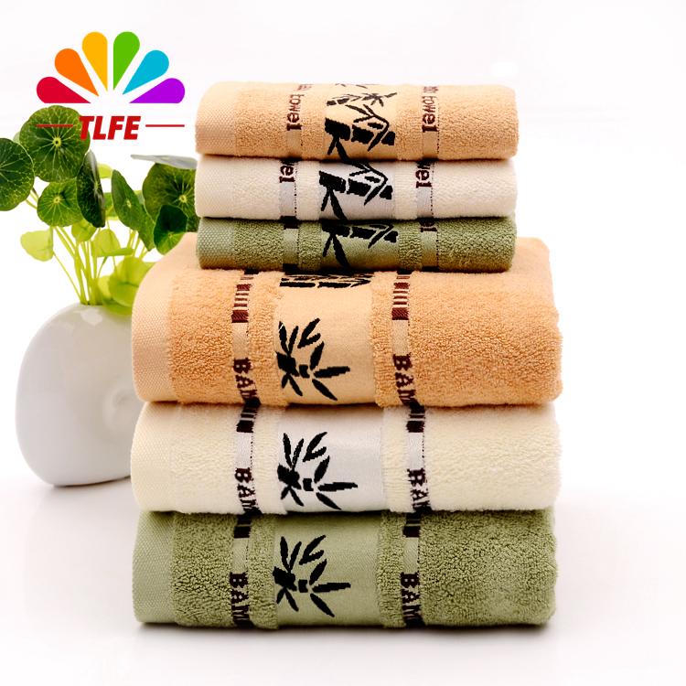 TLFE new 100% bamboo bathroom towel set for adults 3pcs/set include 1pc*70*140cm bath towel baby 2pcs*34*75cm face towels FST05(China (Mainland))