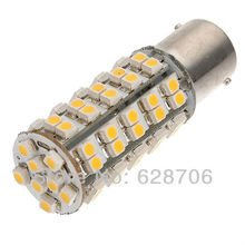 1156 Light Bulb: 1156 BA15s 1210 68 SMD LED Turn Tail Warm White Car Light Bulb 1073 1141  1129,Lighting