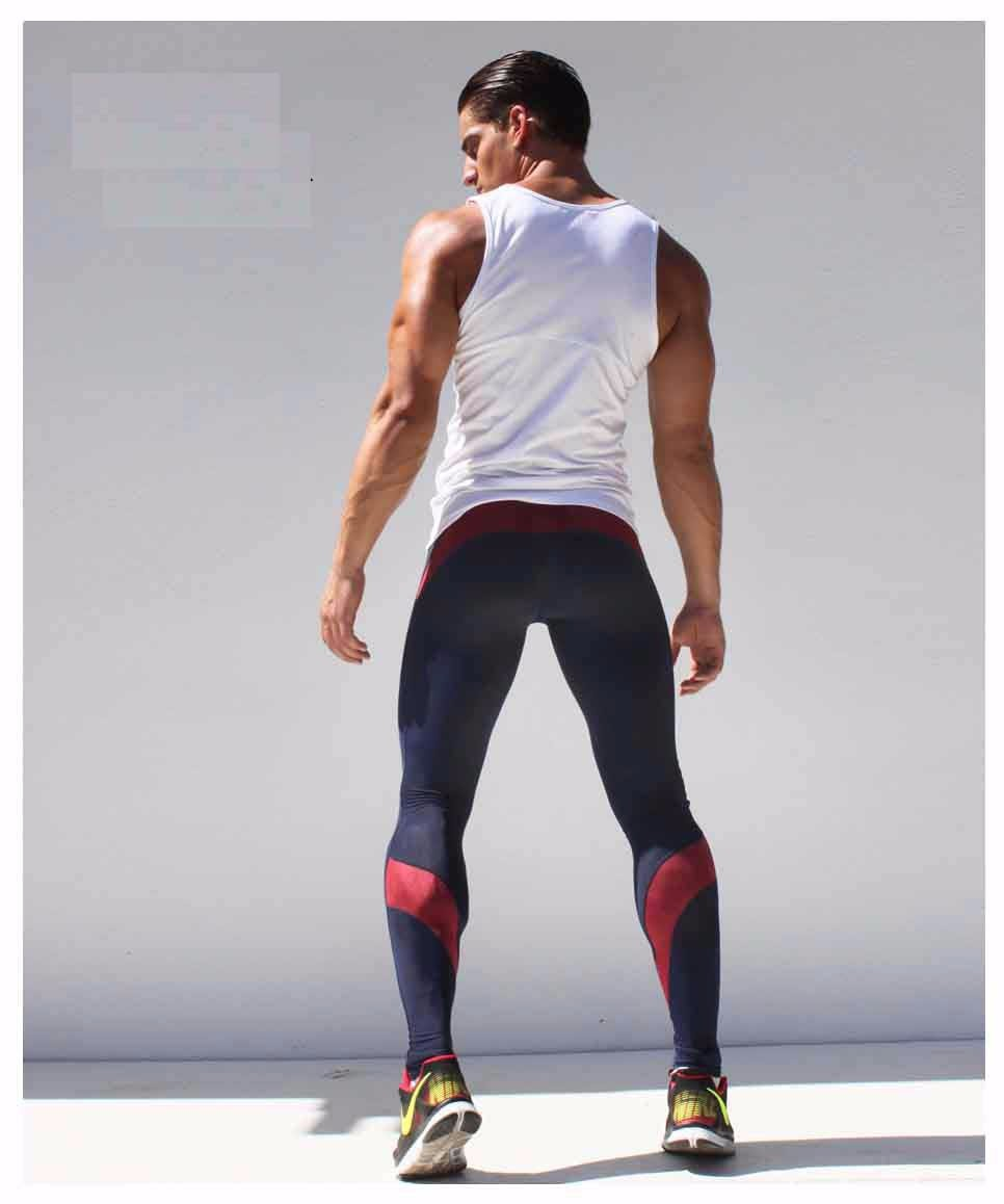 2018 Wholesale Compresion Pants Men Sport Runing Pants