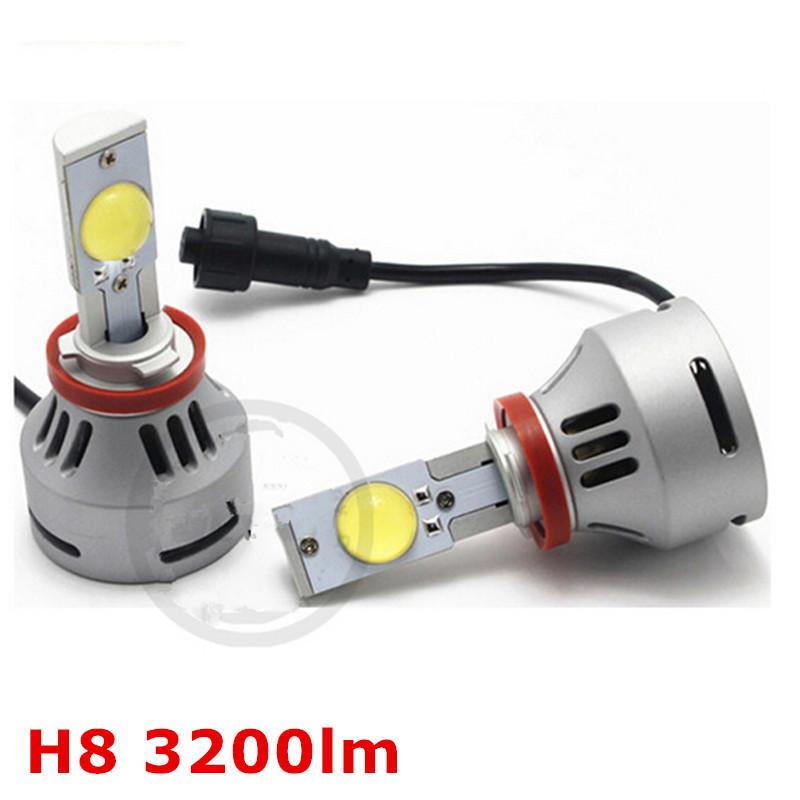 H8 High Power 6400LM CREE Car LED Headlight Conversion Kit Car Truck Light Bulbs(China (Mainland))