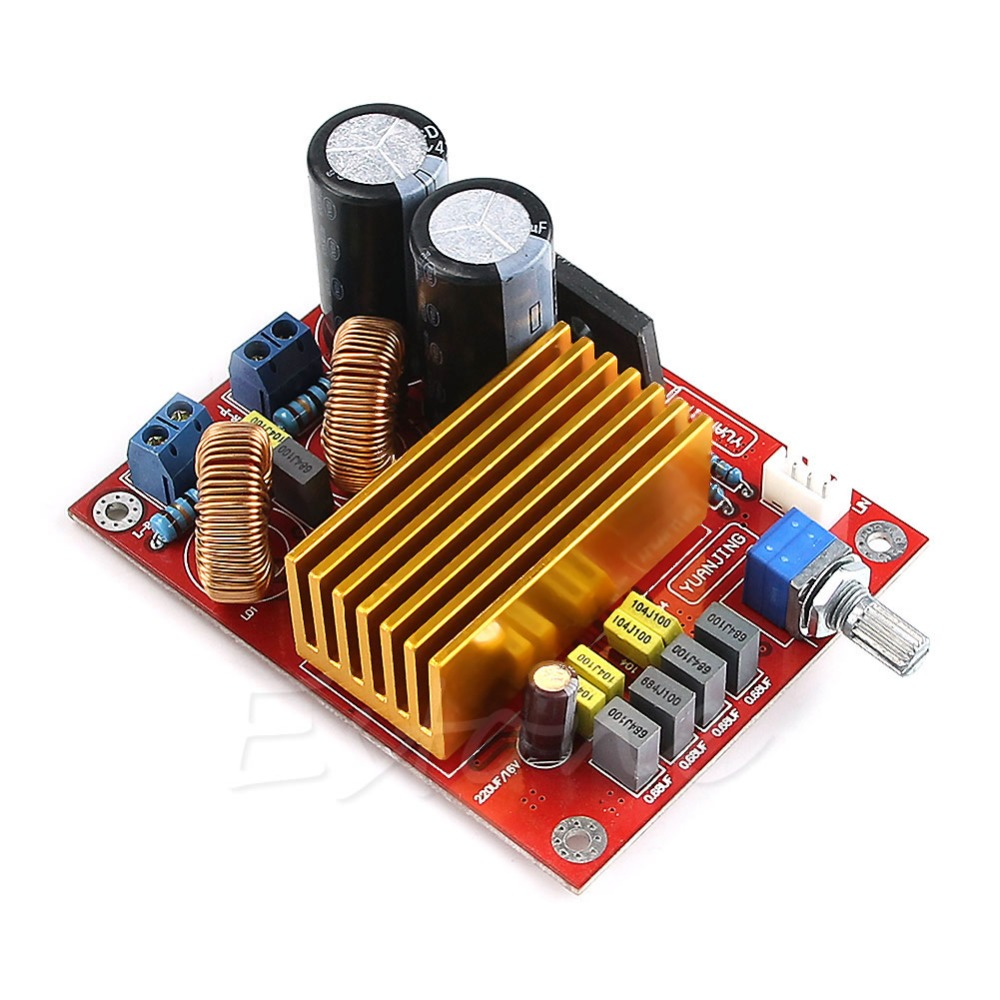 Y92- Free Shipping New TDA8920 CLASS D Audio Power Amplifier AMP Module Kit 100W X2(China (Mainland))