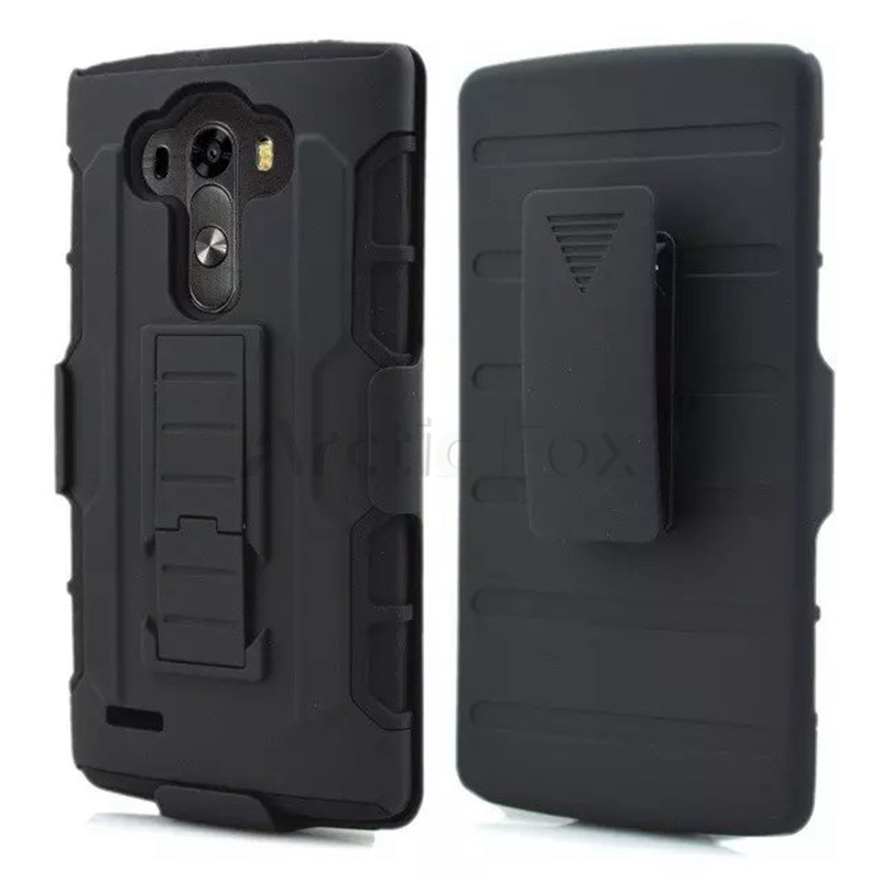 Rugged 3 in 1 Armor Case for LG G4 H818 H815 H810 F500 VS999 Case Full Protective Stand Cover and Belt Clip Phone Back Cover(China (Mainland))