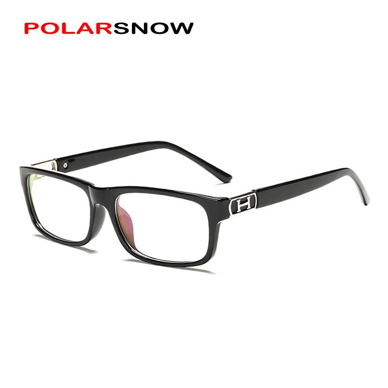 POLARSNOW Fashion Glasses Frames Light Optical Eye Glasses Frame For Men and Women Top Quality Eyeglasses Spectacle Plain Glass