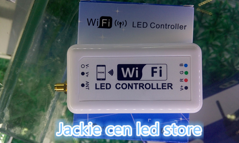 dc7.5-24V Wifi RGB LED controller,color temperature /dimmable mini smart home led dimmer controller control by Android/IOS(China (Mainland))