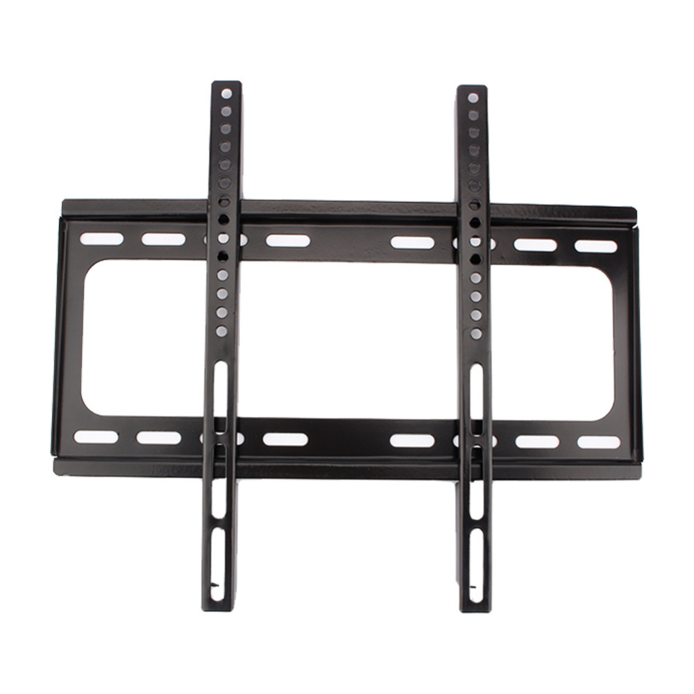 "Domestic service 1PC Wall Mount TV Bracket Slim Flat Holder Rack LCD LED PLASMA 26 32 39 40 42 47 48 50 55"" Inch Black(China (Mainland))"