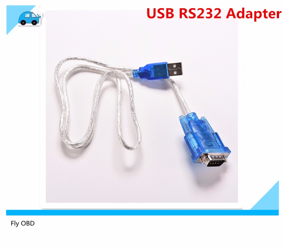 Latest USB 2.0 RS232 COM Port Serial PDA 9 pin DB9 Cable Adapter Support MB STAR C3 Laptop Connection
