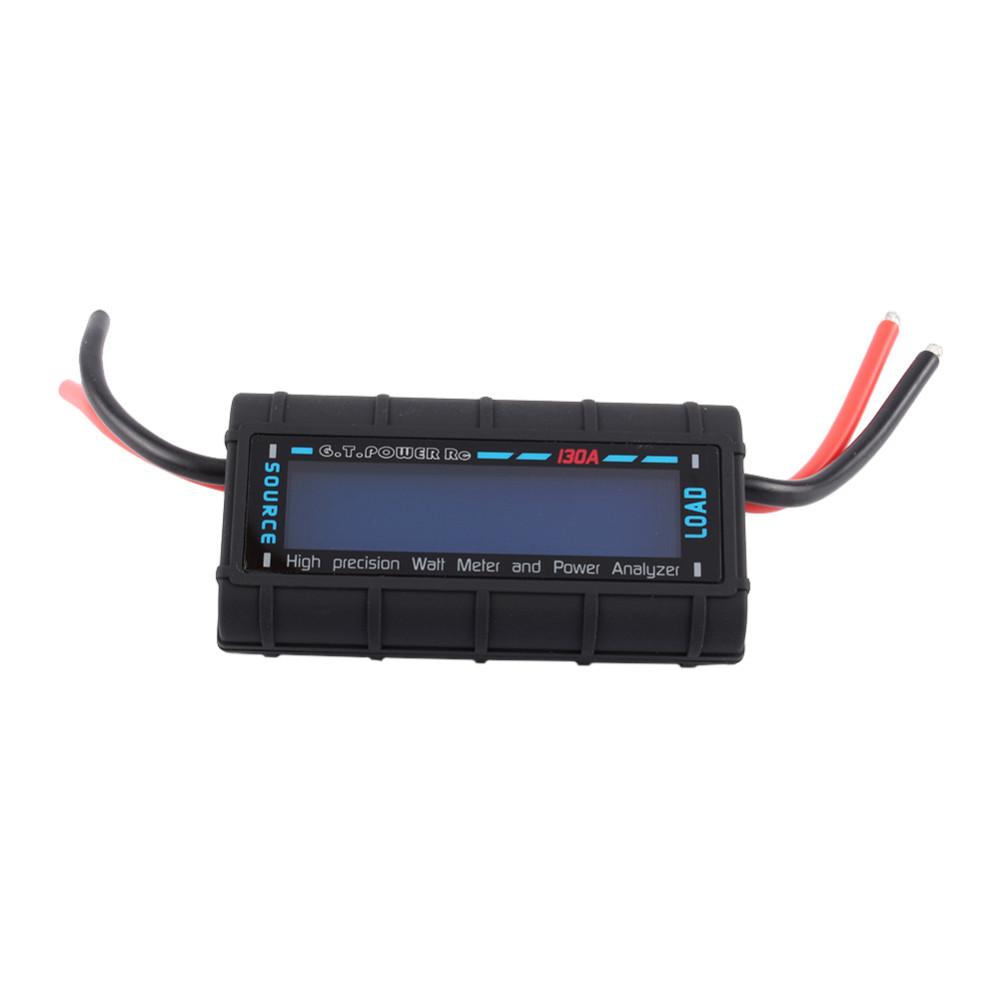 High Precision GT Power LCD RC 130A Watt Meter Power Analyzer Watts Up Battery Balance Ampere Meter(China (Mainland))