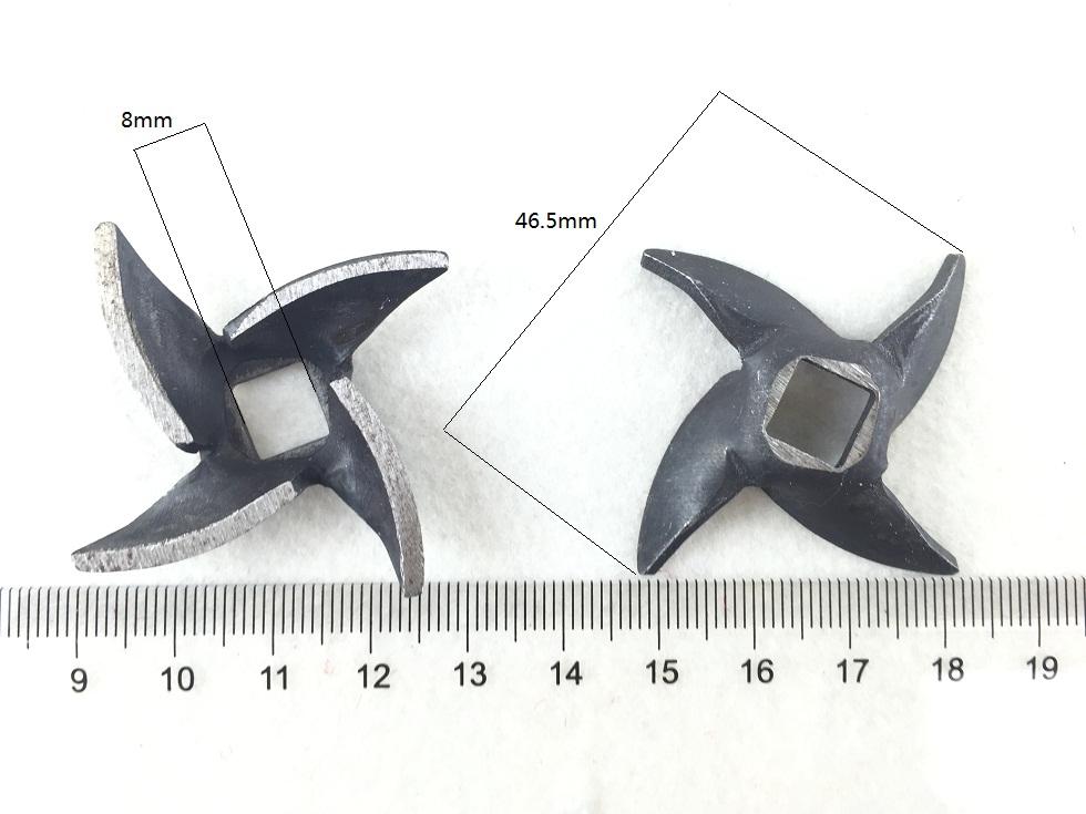 The 5th meat grinder meat grinder blade accessories Juicers accessories blade fit BREKO meat grinder parts blades<br><br>Aliexpress
