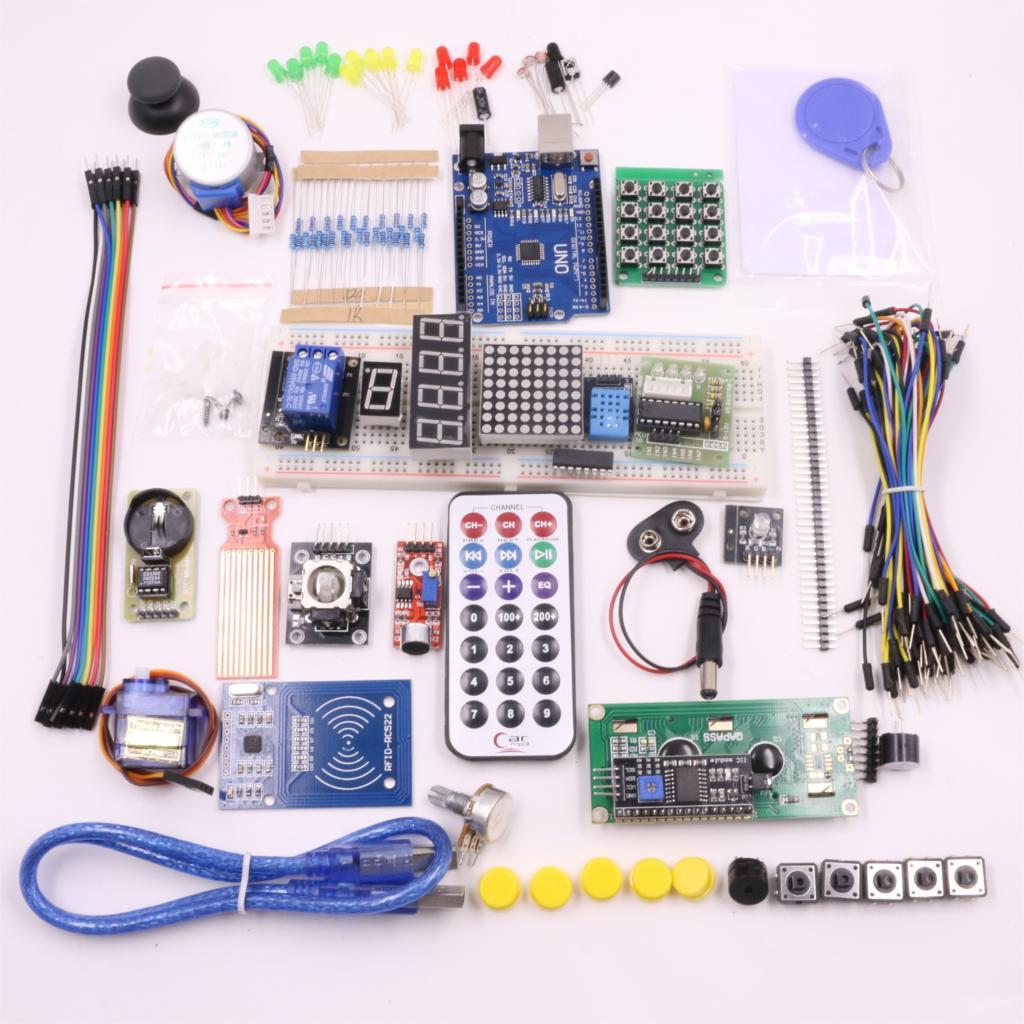 RFID Starter Kit для Arduino UNO R3 Обновленная Версия Learning Suite Комплект starter learning high quality sensor module kit set for arduino mega2560 leonardo