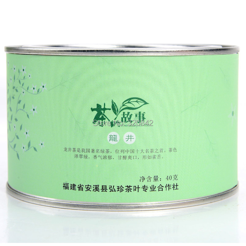 Longjing green tea Longjing tea leaves spring new green tea before rain authentic 40g with gift