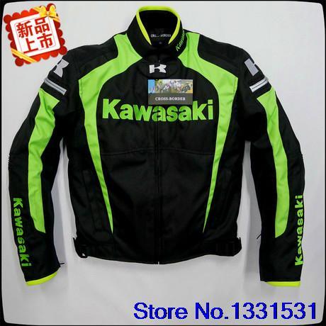 KAWASAKI motorcycle latest overalls KAWASAKI motorcycle engine under drop Warm clothing wholesale and retail(China (Mainland))