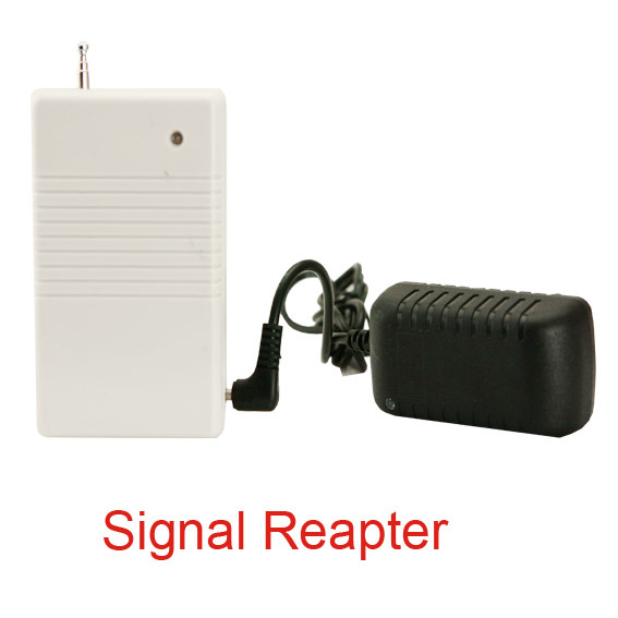 433/868MHz wireless signal reapter for home alarm system