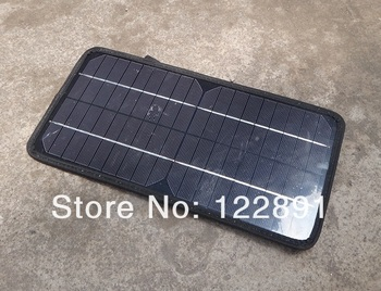 Wholesale! 8.5W 12V Solar Charger Solar Car Charger 12V Battery Charger For Car/ Boat /Motorcycle/ Motor 3pcs/lot  Free Shipping