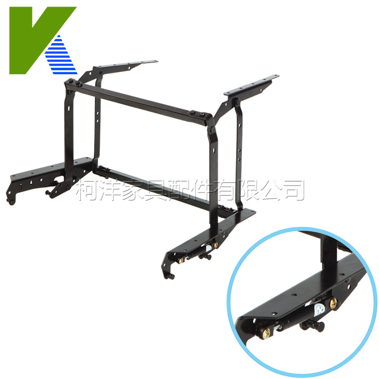 Lifting And Folding Furniture Frame Coffee Table Mechanism With Gas Spring Cylinder KYD003(China (Mainland))