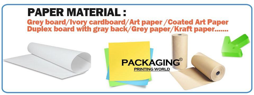 5kraft paper bag art paper bag grey board box