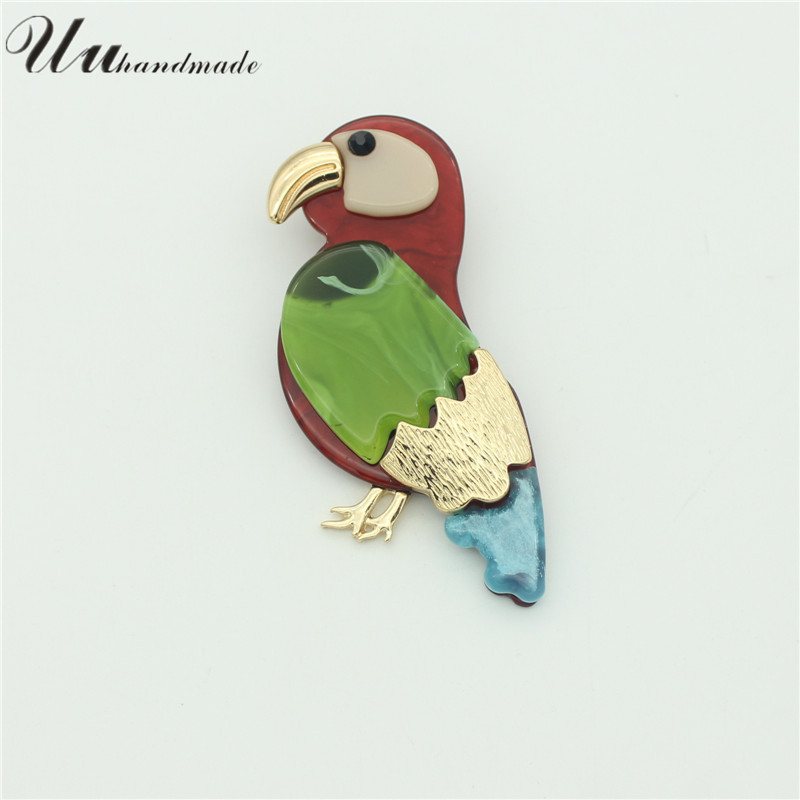 Vintage Bird Parrot Brooches Expoyed Alloy Brooch Pin Garment Accessories broche pins brooches for women broches jewelry fashion(China (Mainland))