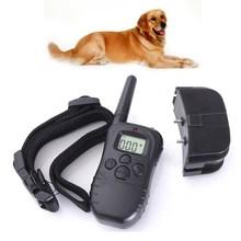 100LV Level 300 meter LCD Electric Shock Pet Dog Training E-Collar Remote Control Anti-Bark(China (Mainland))