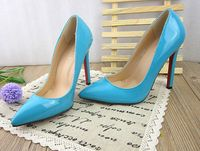 четыре сезона женщины насосы ультра высокие каблуки указал мыс красный единственным Обнаженная цвет насосы обувь для женщин тонкие каблуки насосы женщин высокие каблуки