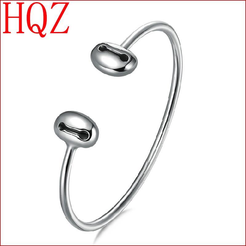 Silver Cuff Brand Bangles Friendship Bracelet elegant high quality gift wholesale new fashion women's 2016 accessories(China (Mainland))