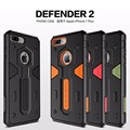 Nillkin Defender serie Original case cover for iPhone 7 plus 5 5 hard plastic TPU protector