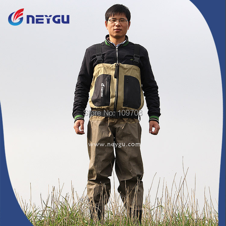 Hot sale breathable fishing hunting wader in fishing for Fishing waders on sale